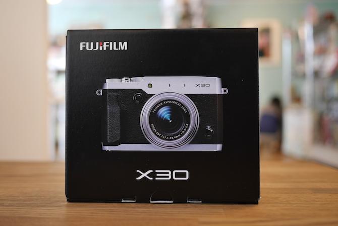FUJIFILM X30 レビュー