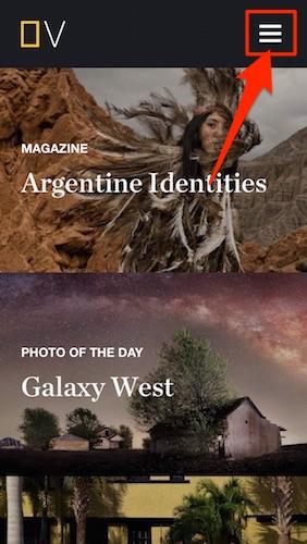 ナショナルジオグラフィックの公式アプリ
