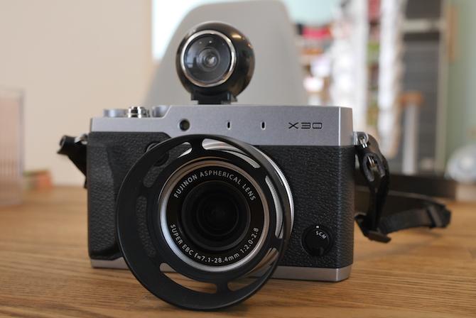 X30 レンズフード