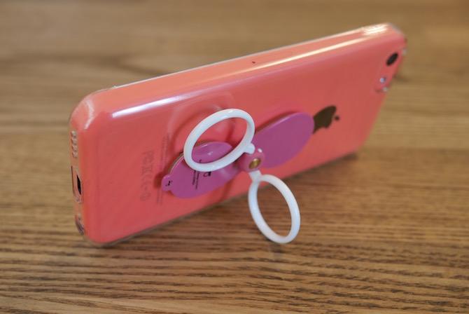 360度回転 iPhone スタンド