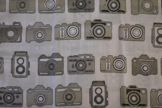 てぬぐい レトロカメラ
