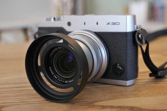 X30 レンズフード(互換品)