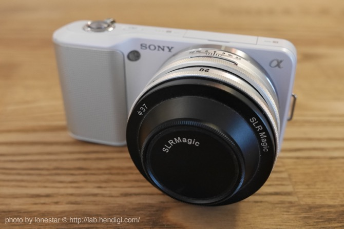 SLR Magic 28mm f/2.8 E-mount