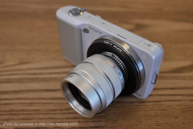 50mm F1.4 TVレンズ