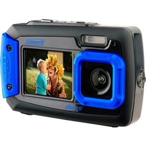 Coleman Duo 2V9WP Dual Screen Shock & Waterproof Digital Camera
