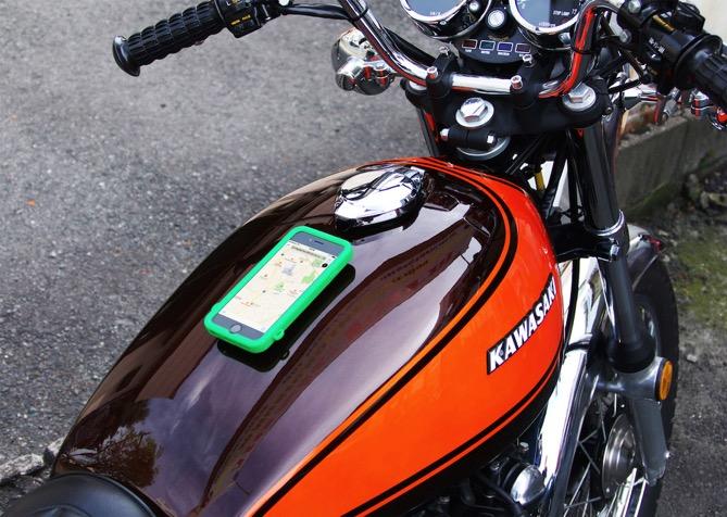 バイク iPhone カーナビ