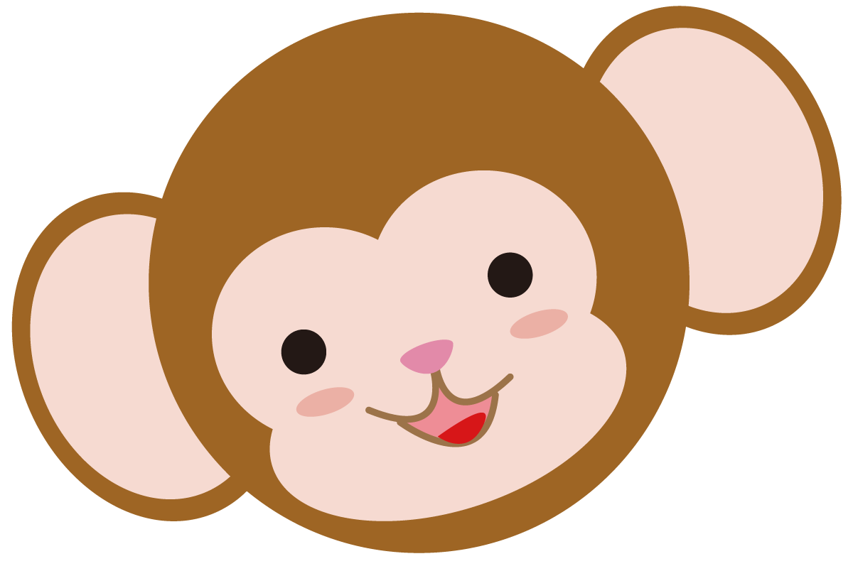 サル イラスト 素材