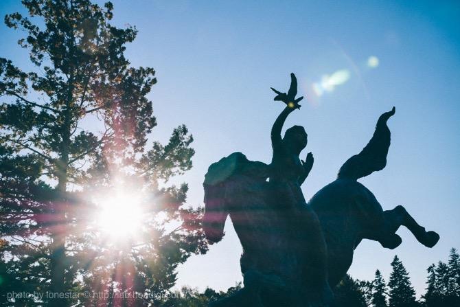 芸術の森彫刻公園