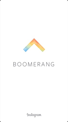 Boomerang from Instagram(ブーメラン)