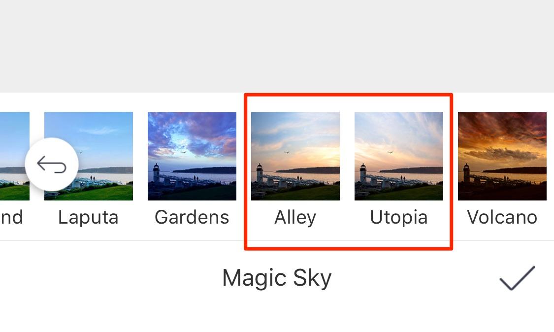 曇り空 加工 アプリ