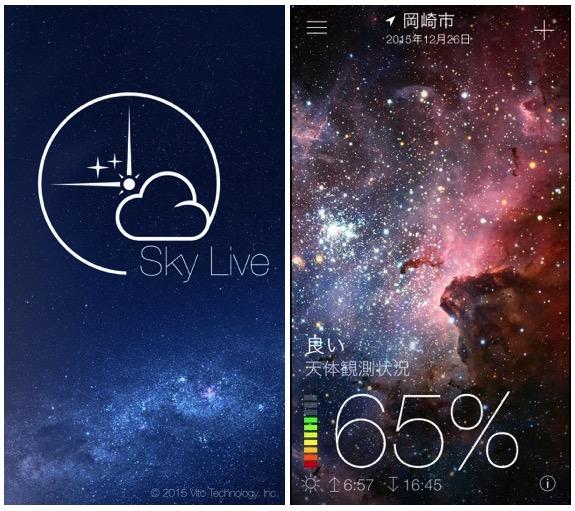 Sky Live - スカイライブ - 天体予報