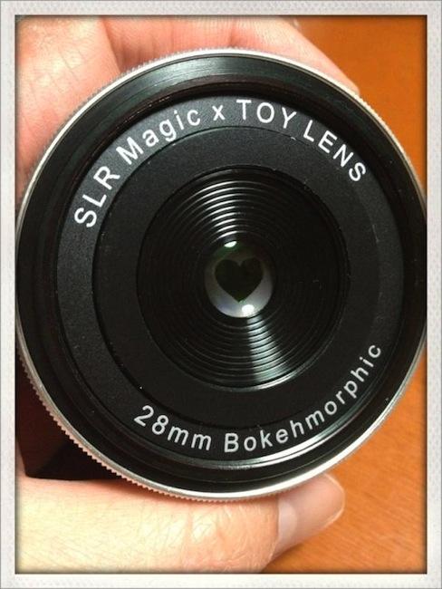 Bokehmorphic lens