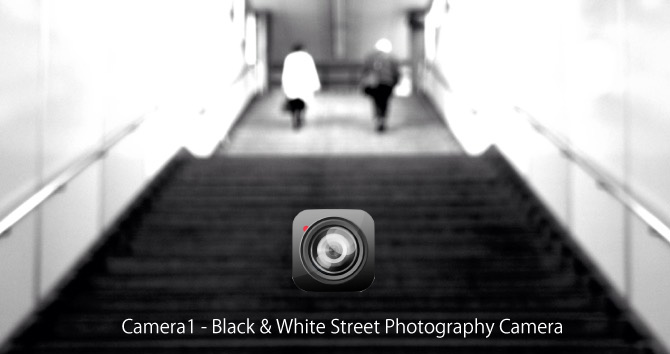 Camera1 - Black & White Street Photography Camera