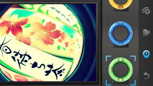 魚眼カメラ アプリ