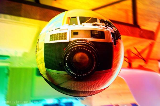 魚眼カメラ 作例