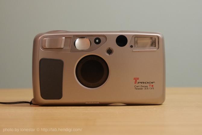 Kyocera T PROOF Carl Zeiss T* Tessar 35mm f3.5