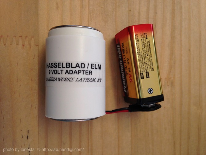 Hasselblad 500 EL/M 電池