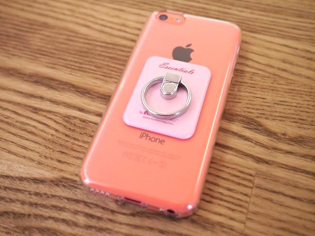 iPhone5c バンカーリング