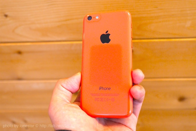 iPhone 色落ち