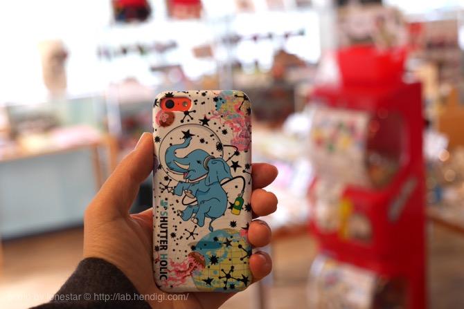 iPhone5cケース トイズミミック
