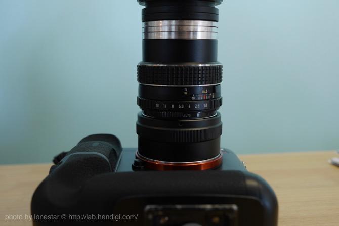 Rollei Fototechnic Germany S Heidosmat MC 90mmF2.8 (タクマー組込)M42マウント
