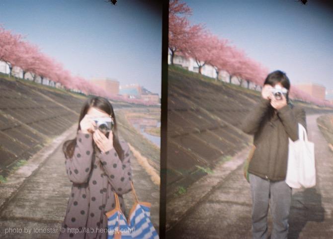 ハーフカメラ