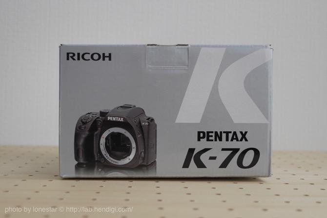 PENTAX K-70 開封