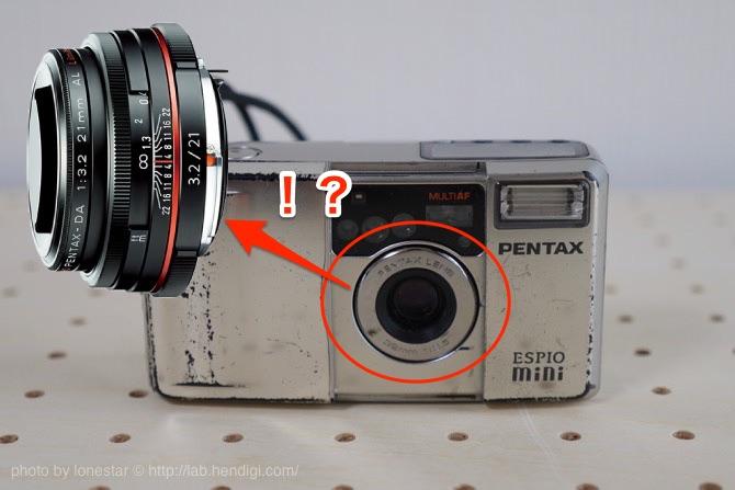 HD PENTAX-DA 21mmF3.2AL Limited