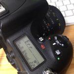 Nikon D750 エラー