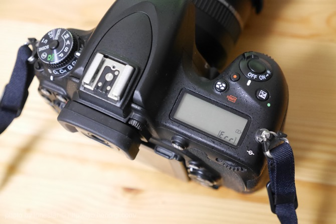 D750 SDカード エラー