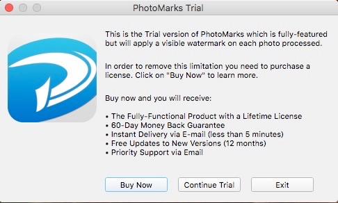 Mac ウォーターマーク アプリ