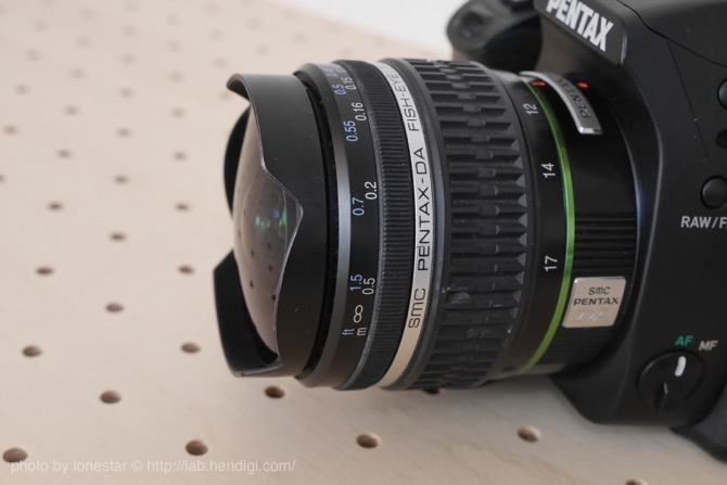 PENTAX K-70 魚眼