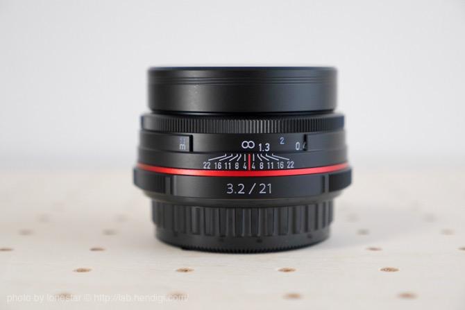 HD DA21mm Limited