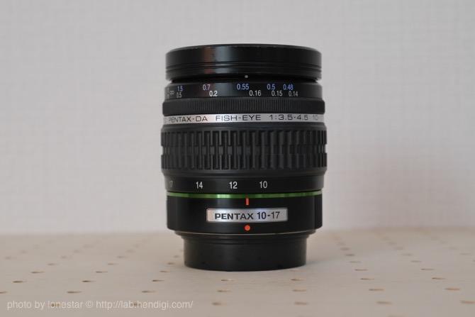 PENTAX-DA FISH-EYE 10-17mmF3.5-4.5ED
