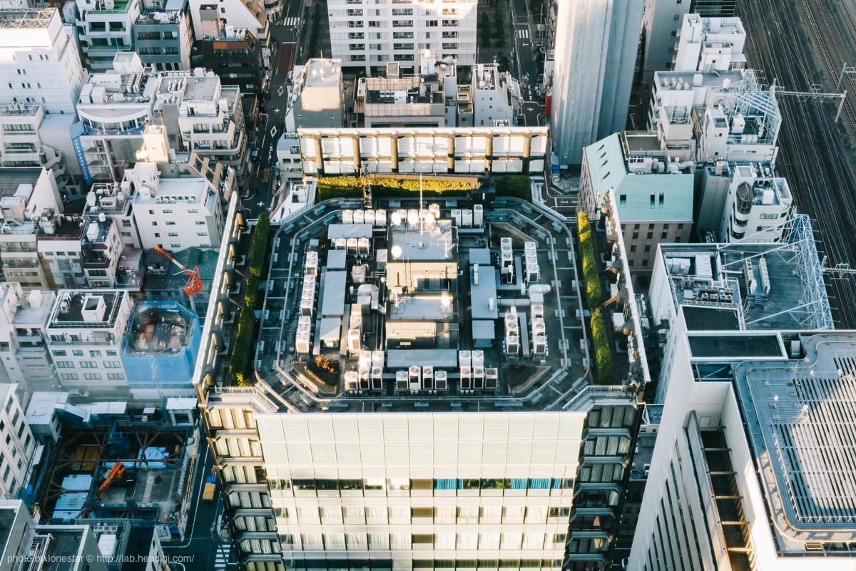 国際貿易センター 屋上