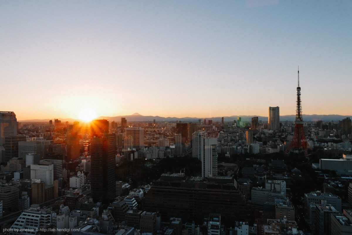 東京 夕焼け スポット