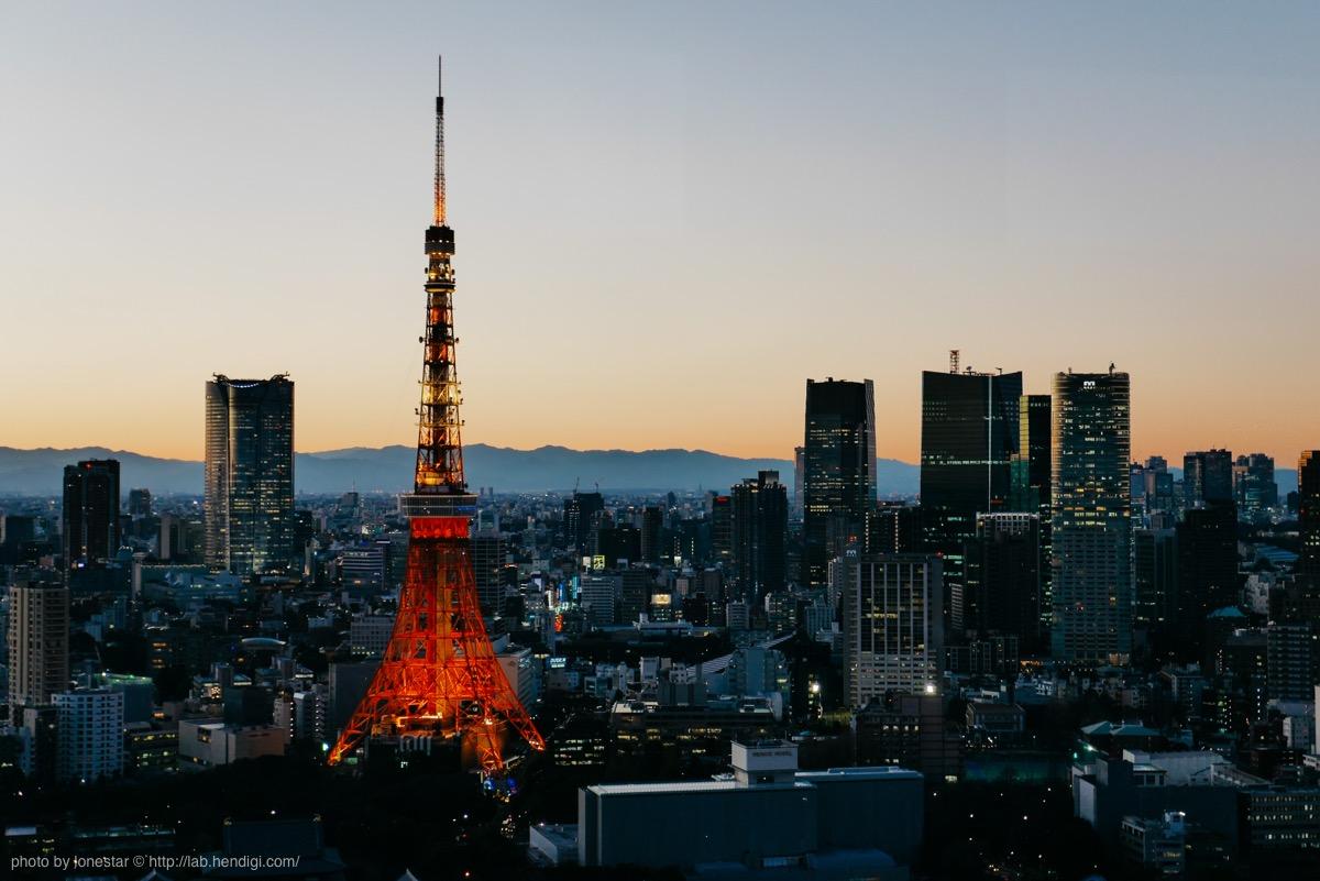 浜松町 東京タワー 撮影