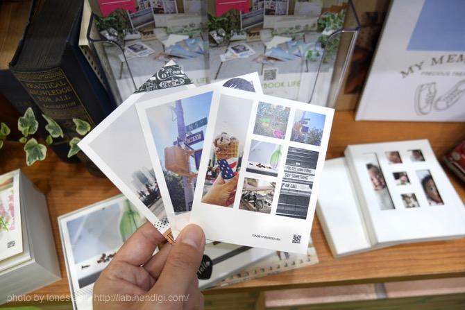 ポラロイド写真 カード