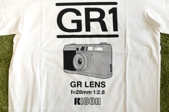 GR1 フィルムカメラ Tシャツ
