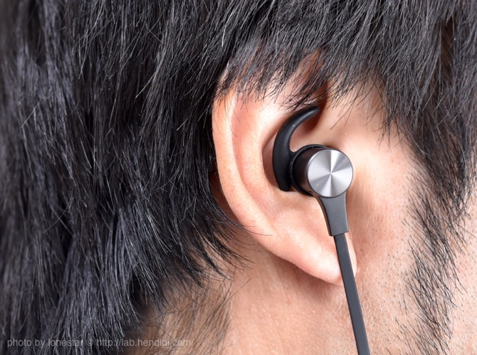 イヤホン 耳の溝