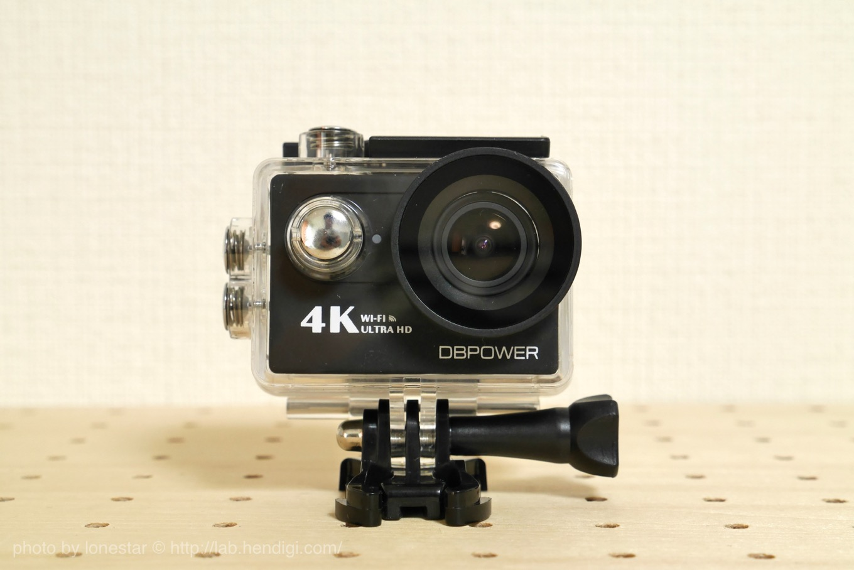 DBパワー アクションカメラ