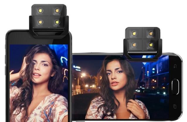 LEDフラッシュ iPhone