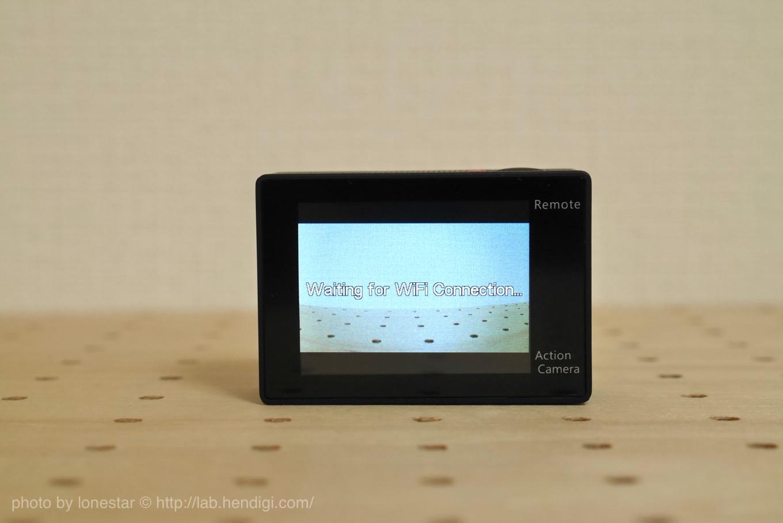 アクションカメラ Wi-Fi