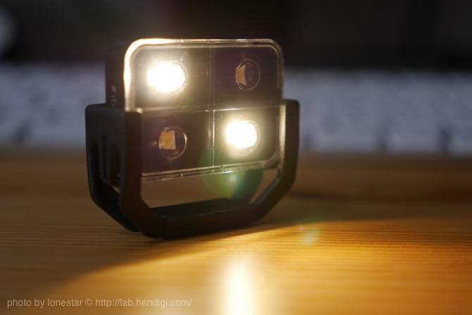 スマホ用LEDライト