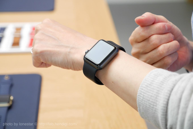 Apple Watch アルミニウム ブラック