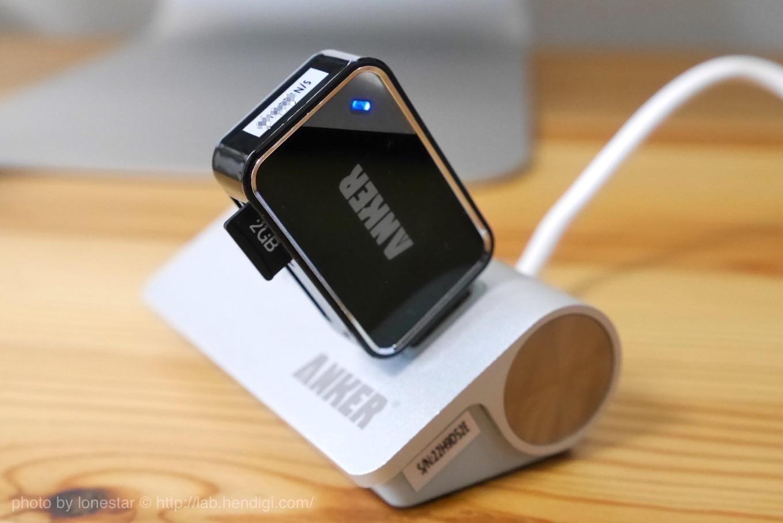 Anker カードリーダー iMac
