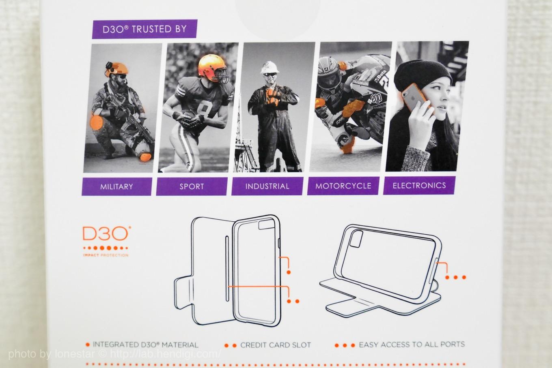 D3O iPhone ケース