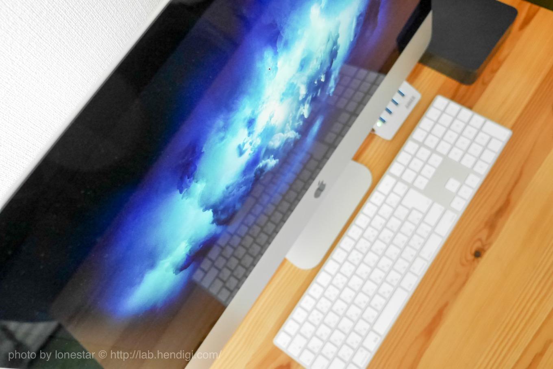 新型iMac ディスプレイ