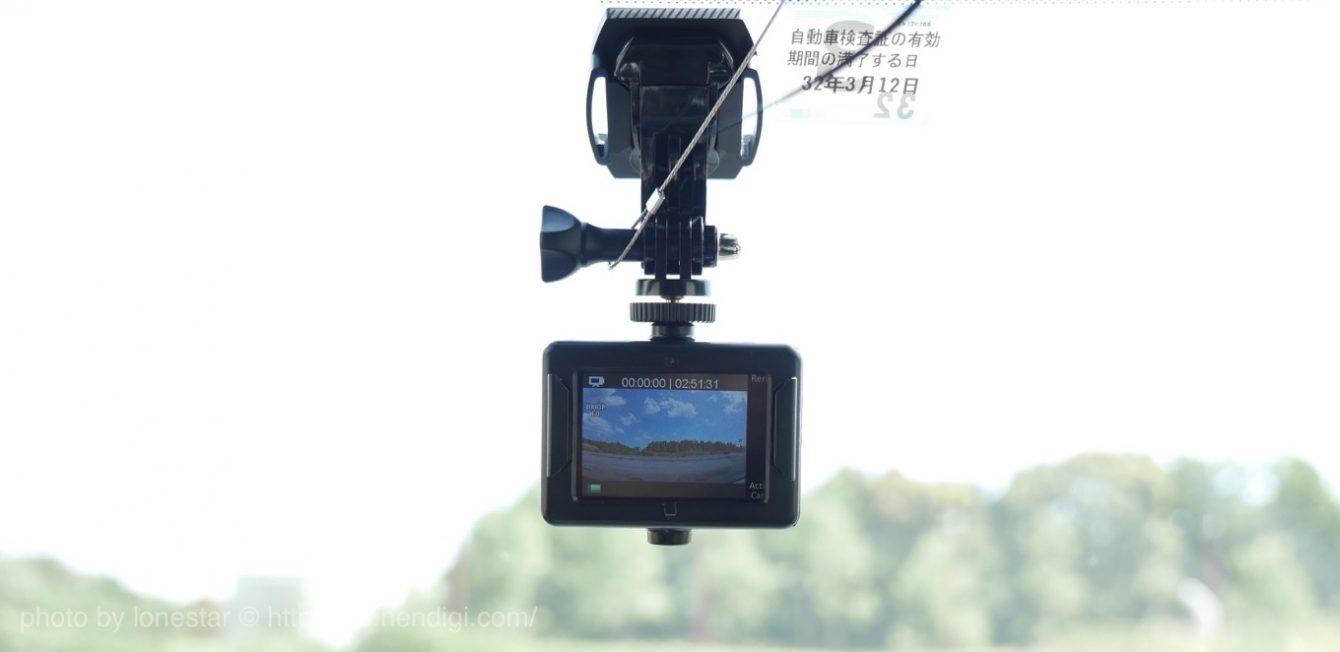 DBPOWER 4K アクションカメラ タイムラプス撮影