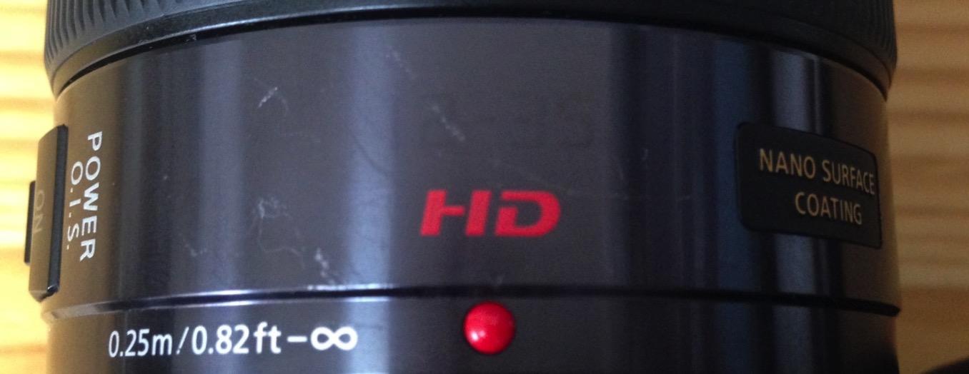 LUMIX G X VARIO 12-35mm F2.8 塗装